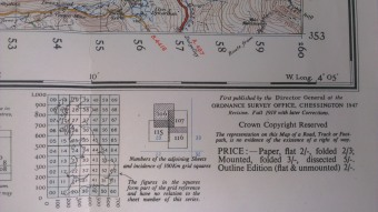 'The representation on this Map of a Road, Track or Footpath, is no evidence of the existence of a right of way'